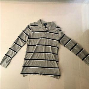 Long Sleeve Polo Shirt for Kids